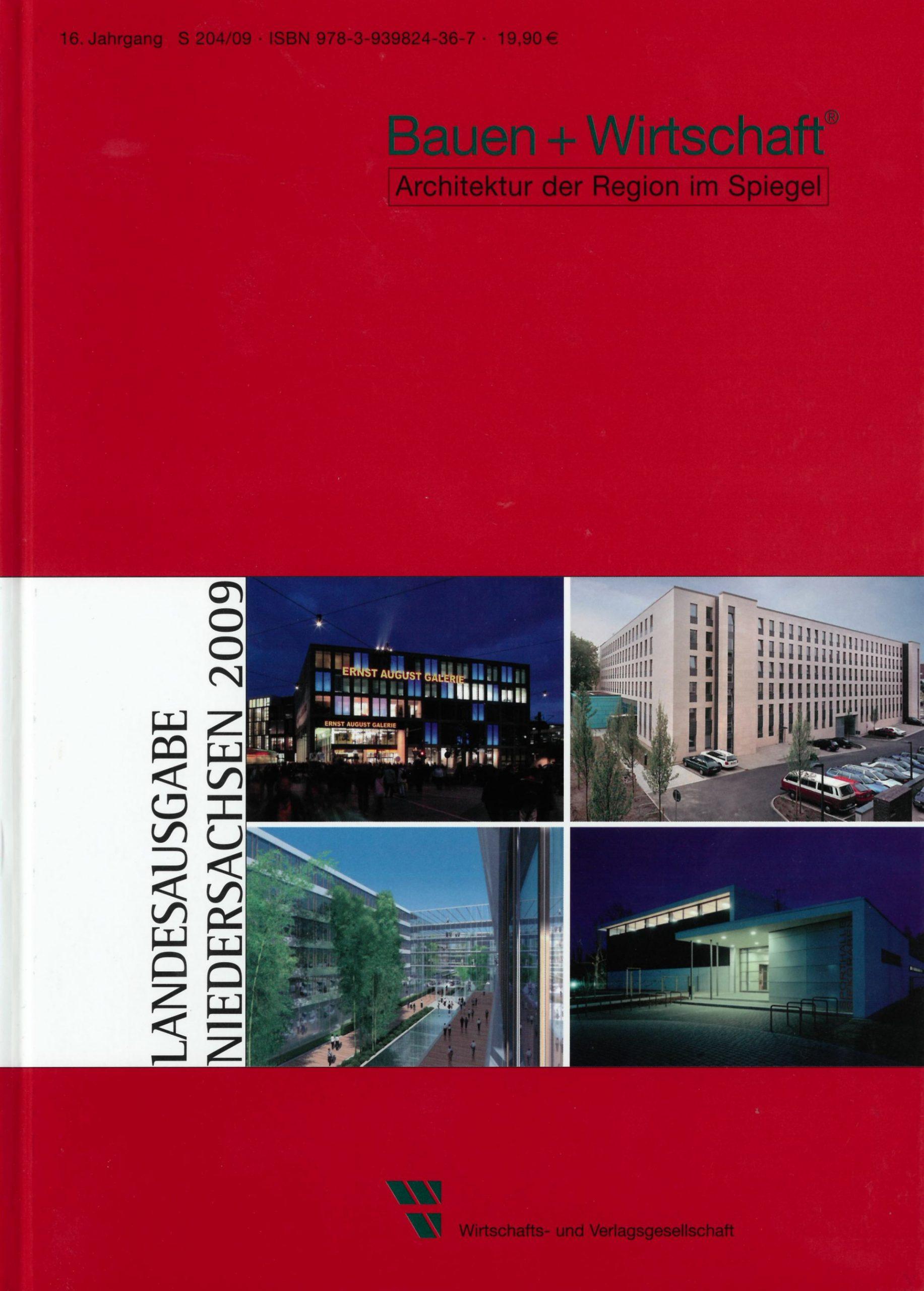 Bauen Wirtschaft Landesausgabe Niedersachsen 2009